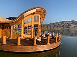 Pontoons for houseboats and boats
